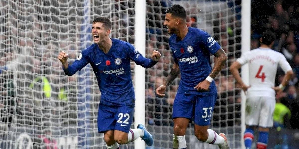 Chelsea se acerca a los primeros puestos, gracias a Pulisic
