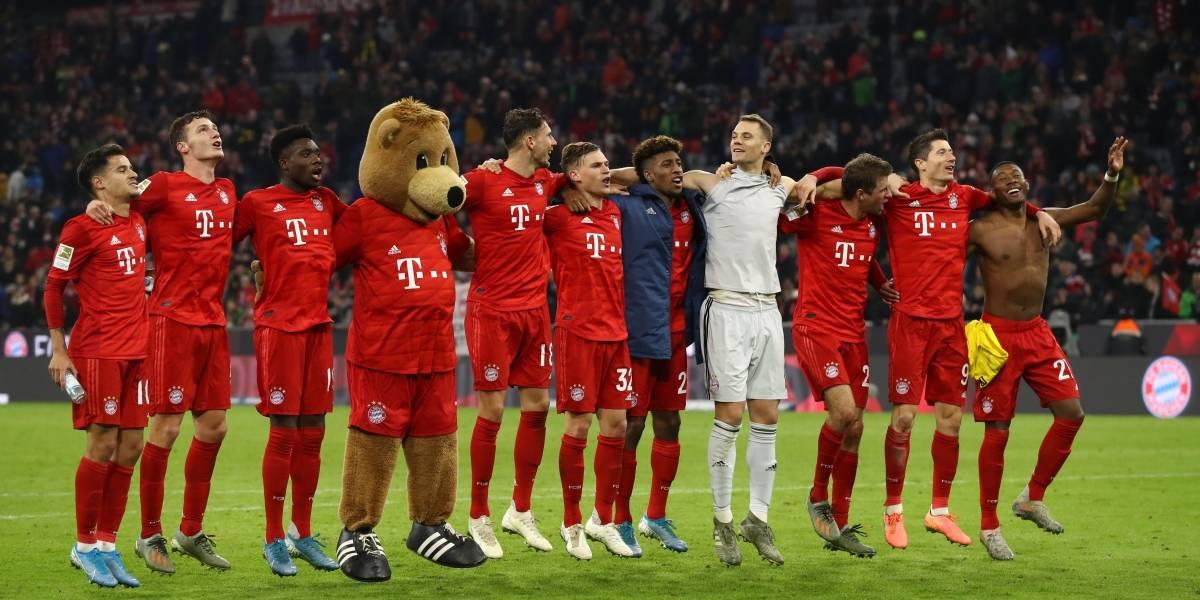 ¡Qué bávaros! Bayern Múnich golea al Borussia Dortmund
