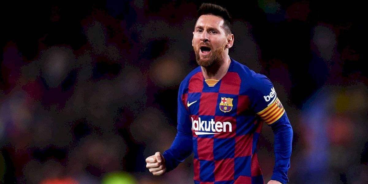 Messi roba ilusión de liderato al Real Madrid