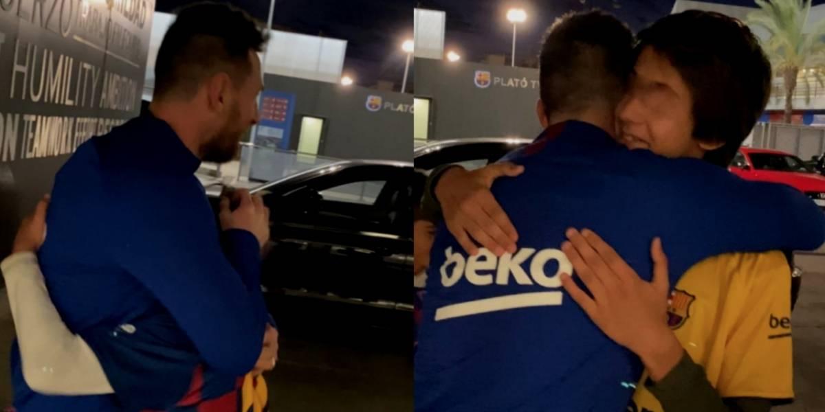 VIDEO: La conversación de Messi con unos niños que le da la vuelta al mundo