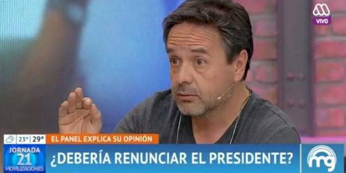 """Claudio Arredondo interpeló a Francisco Chahuán por sus dichos sobre Piñera: """"Él no ha demostrado ser lo que ustedes están diciendo"""""""