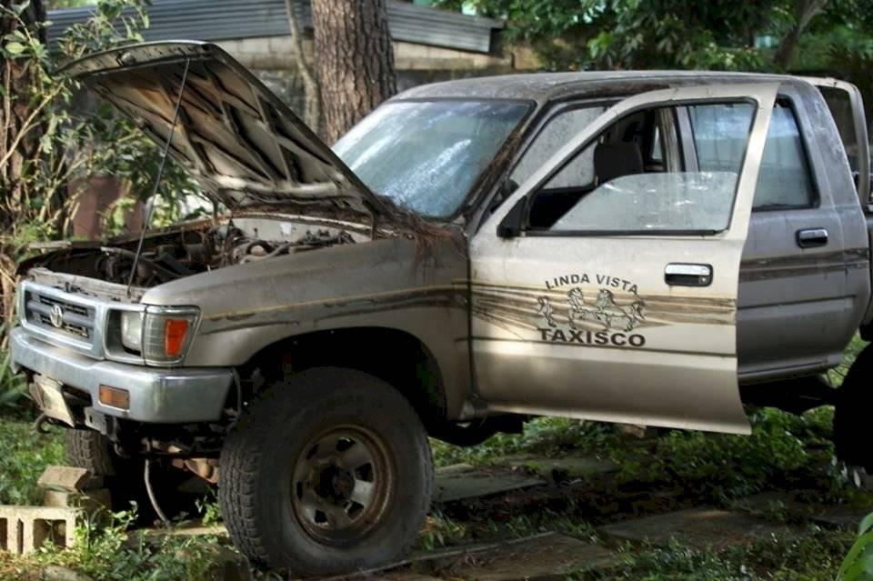 PNC localiza un vehículo con reporte de robo. Foto: PNC