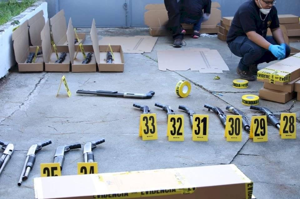 PNC desarticula empresa de seguridad ilegal. Foto: PNC