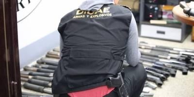 PNC desarticula empresa de seguridad ilegal.