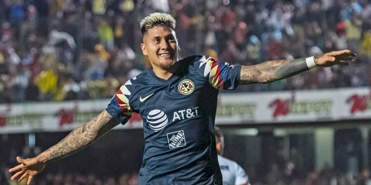 ¿Otra baja para Rueda?: Nicolás Castillo anotó en la goleada del América ante Veracruz y fue reemplazado por molestias físicas
