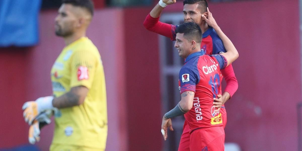 VIDEO. Othoniel Arce marca doblete en goleada de Municipal ante Sanarate