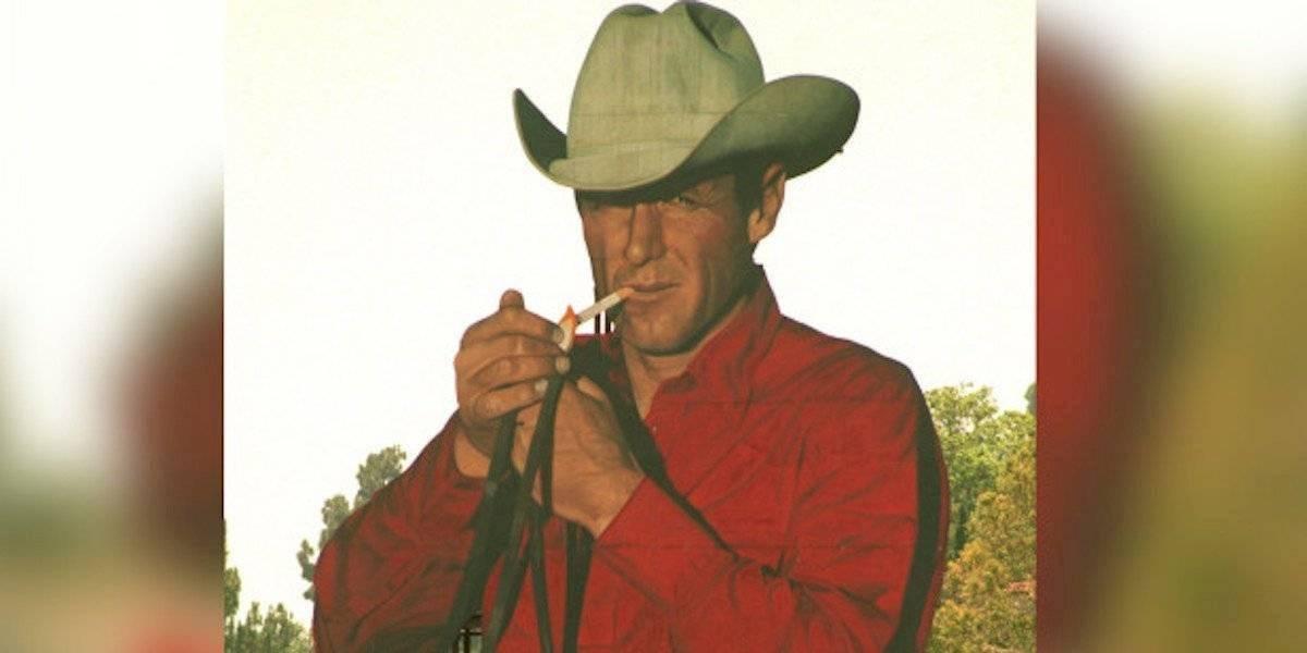 """Muere Robert Norris, el """"hombre Marlboro"""" y quien nunca fumó en su vida"""
