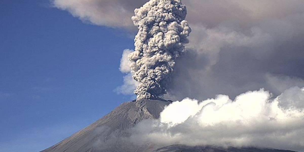 Advierten caída de ceniza del Popocatépetl en CDMX