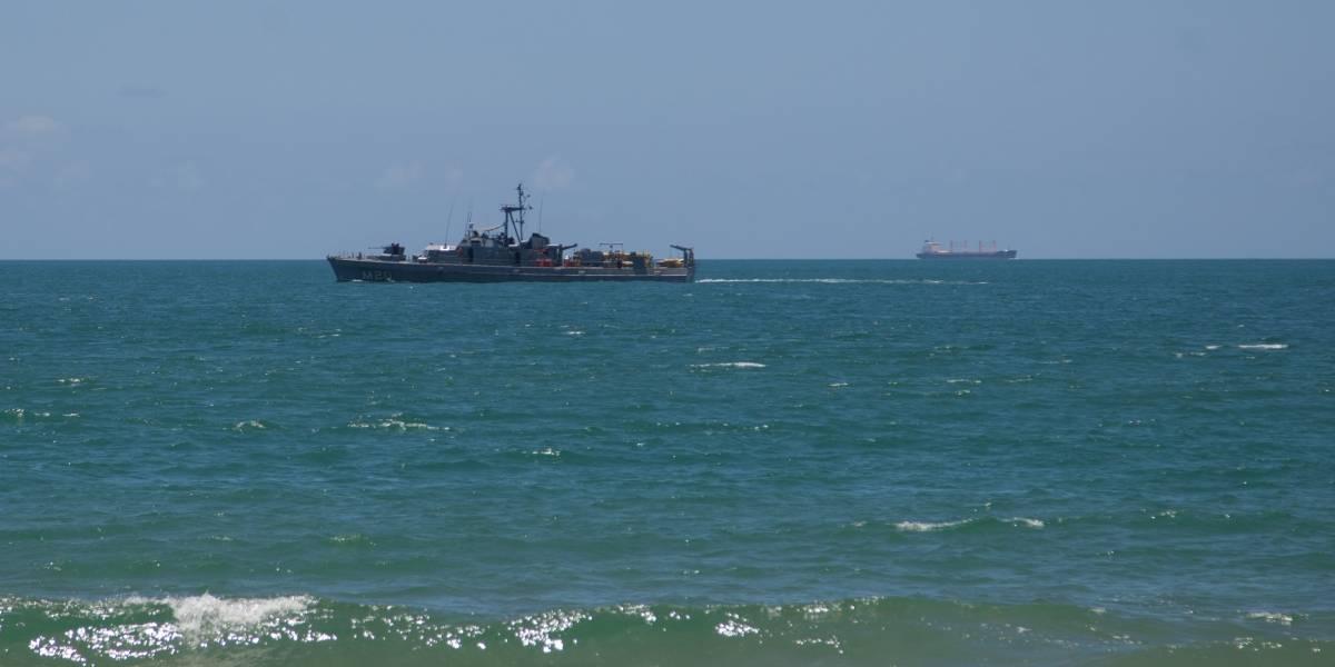 Marinha nega mancha de óleo no Rio Grande do Norte identificada por satélite