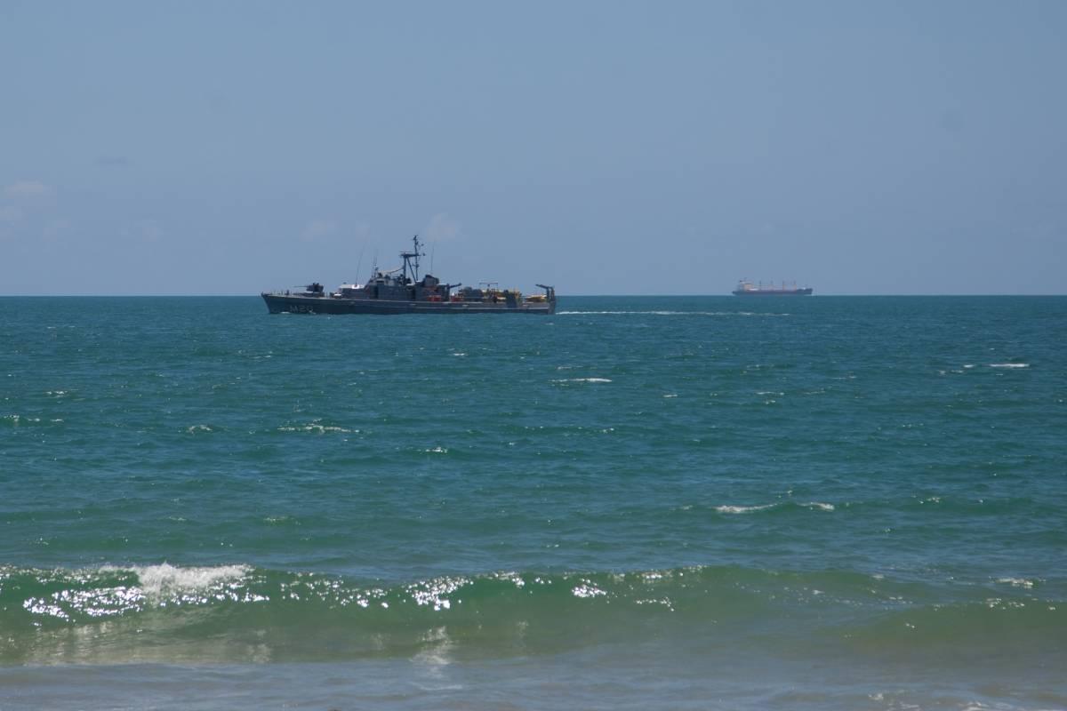 Marinha nega mancha de óleo no Rio Grande do Norte identificada por satélite - Metro Jornal