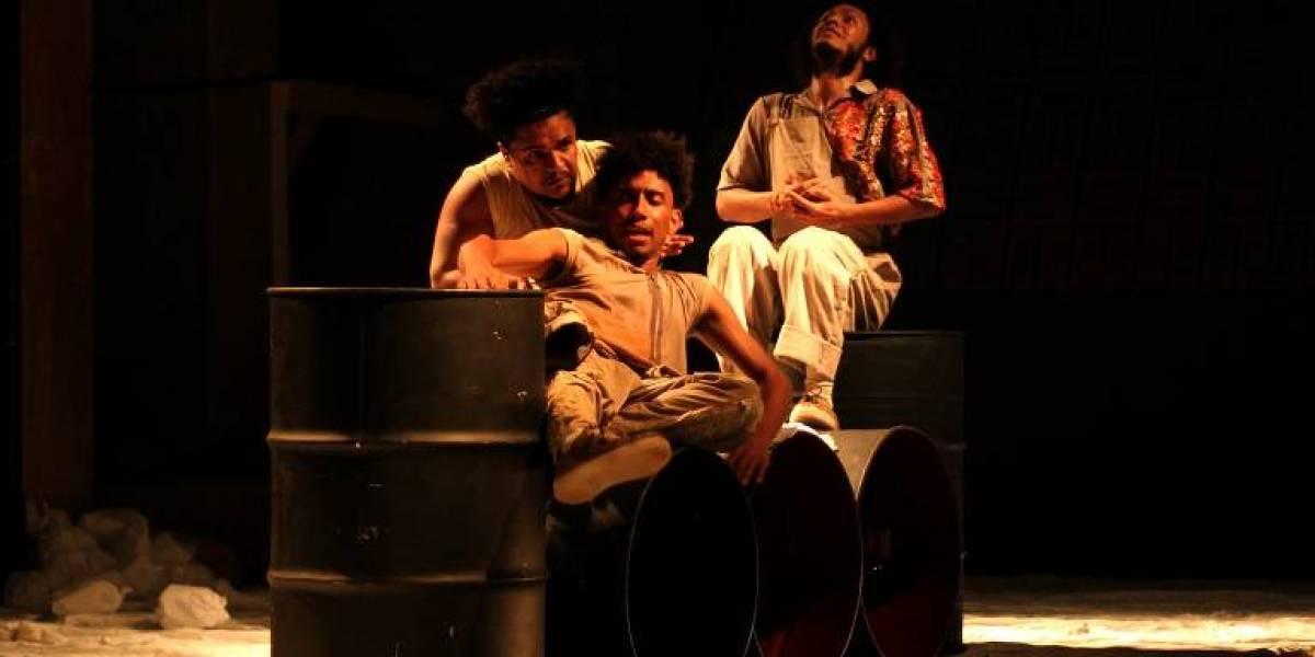 Violência policial contra negros guia peça em teatro na Lapa