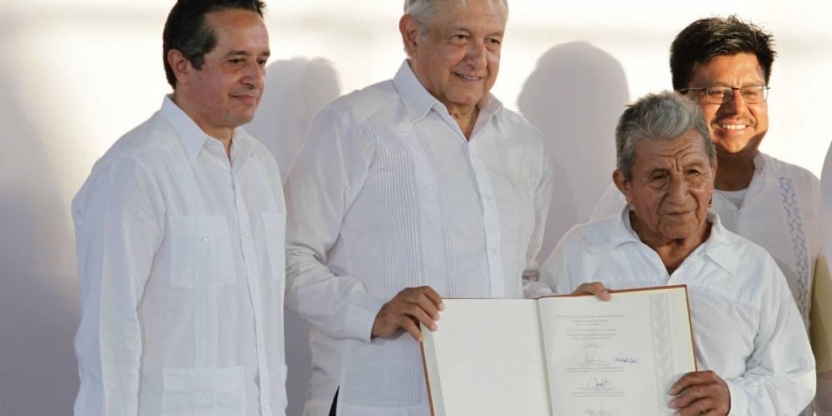 Si el pueblo rechaza proyecto del Tren Maya, no lo construimos: AMLO