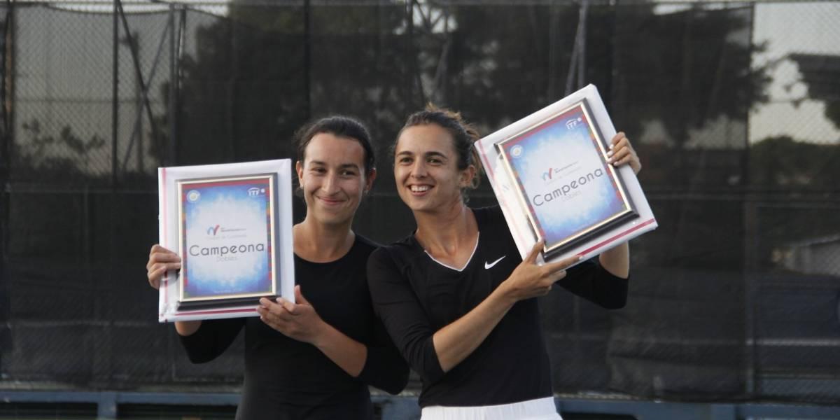 Andrea Weedon y Melissa Morales con un título que vale oro