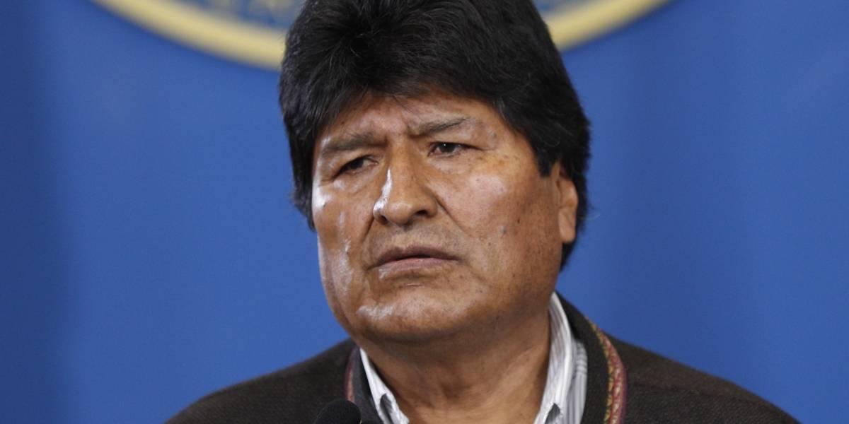 Evo Morales renunció como presidente de Bolivia