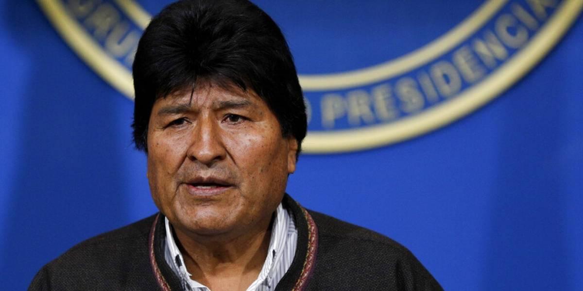 Renuncia Evo Morales como presidente de Bolivia