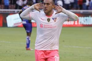 Liga de Quito vs Delfín por la final (ida) de la Copa Ecuador