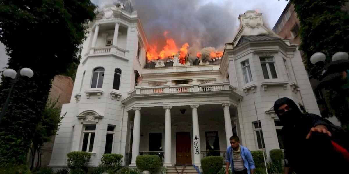 Providencia: Prisión preventiva para imputado por incendio a sede universitaria