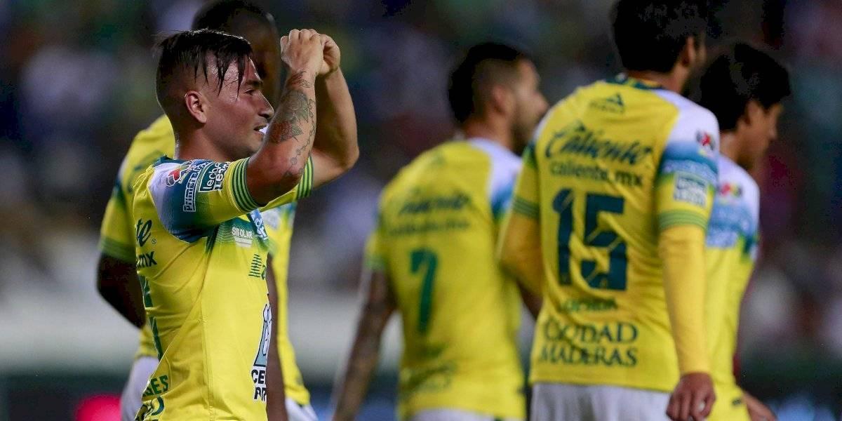 Jean Meneses sigue en racha y aportó con un gol en el triunfo de León sobre Toluca en la Liga MX