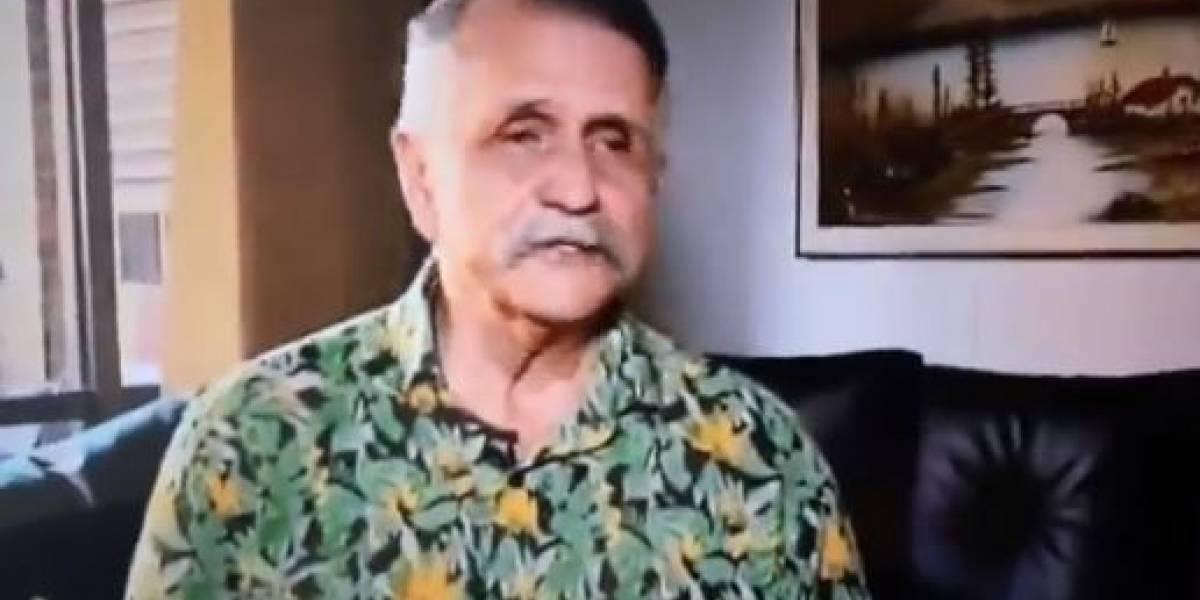 En medio de lágrimas 'El hombre caimán' habla de su salida de Sábados Felices