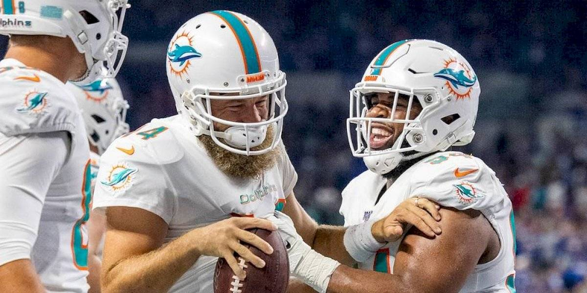 Dolphins vuelven a ganar, ahora se imponen a Colts
