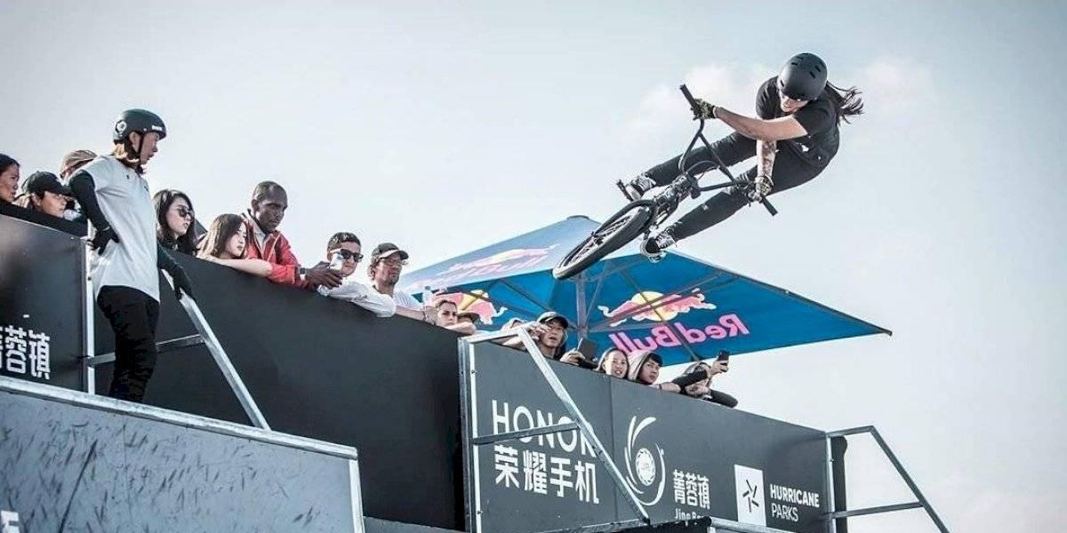 El BMX le entregó a Chile una nueva clasificada para Tokio 2020: Macarena Pérez consiguió la medalla de plata en el Mundial de China