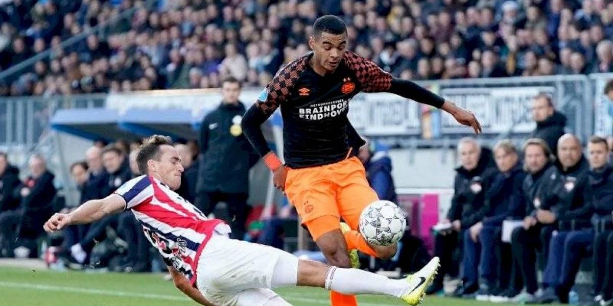 PSV, de Erick Gutiérrez, no responde y cae ante el Willem II