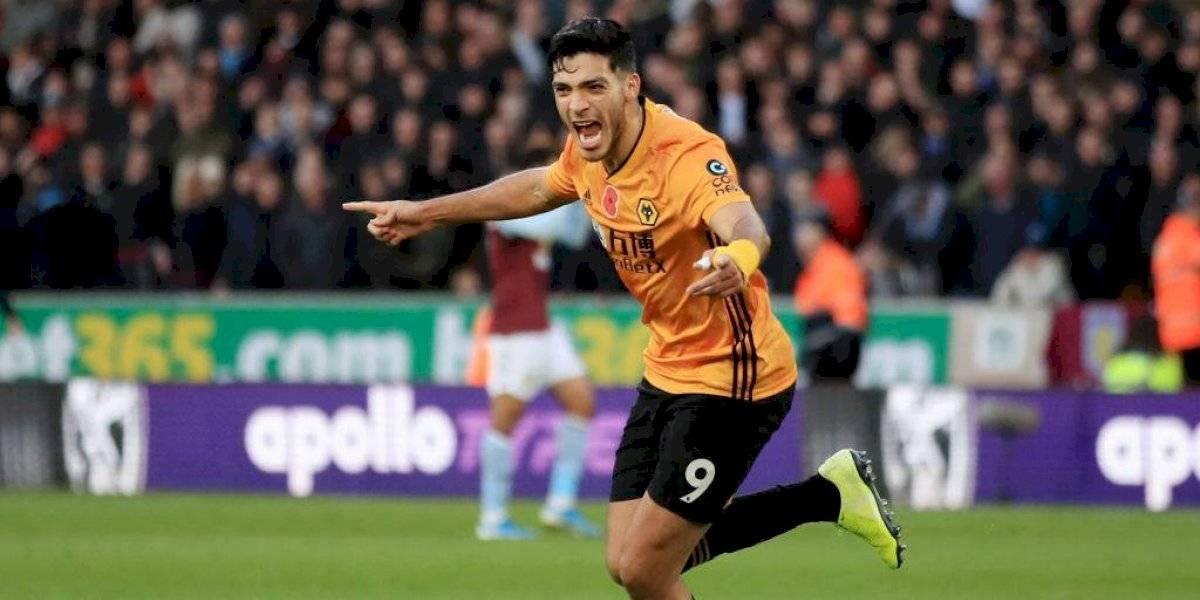 VIDEO: Raúl Jiménez marca por tercer partido consecutivo en victoria de Wolves