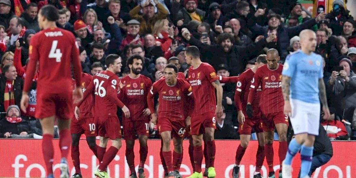 Así vivimos la victoria del Liverpool sobre el Manchester City con Claudio Bravo como titular