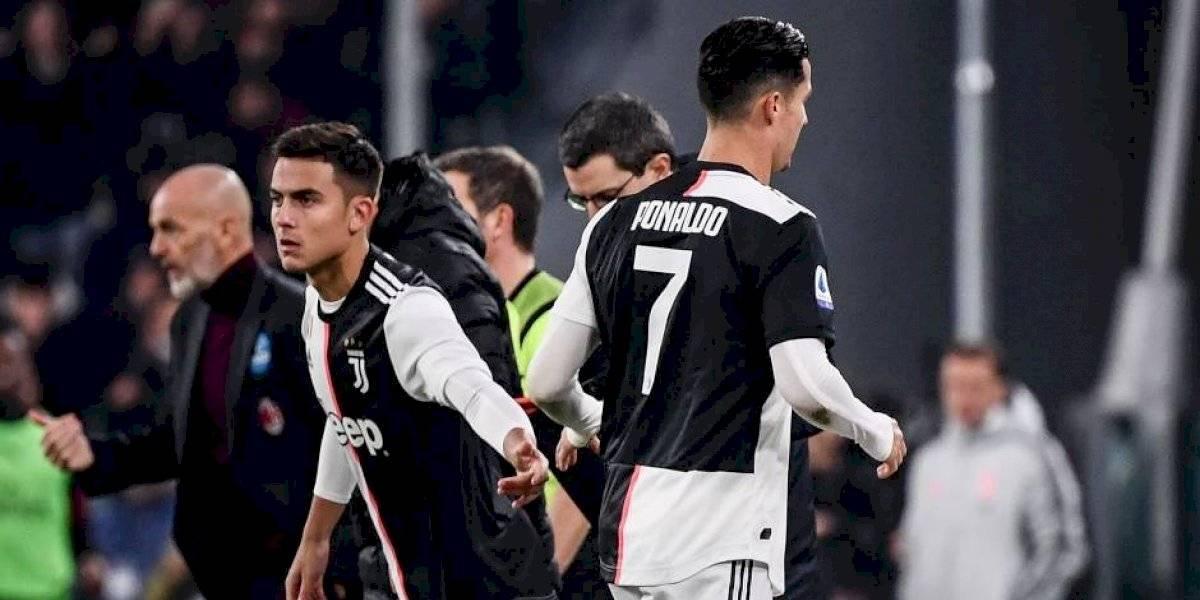 Juventus derrotó al Milan en ajustado partido y quedó como solitario líder de la Serie A