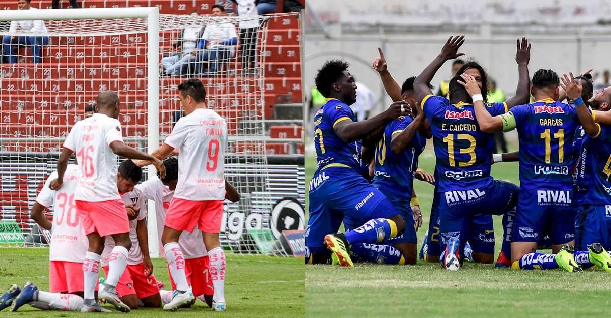 Liga de Quito vs Delfín por la final de la LigaPro API