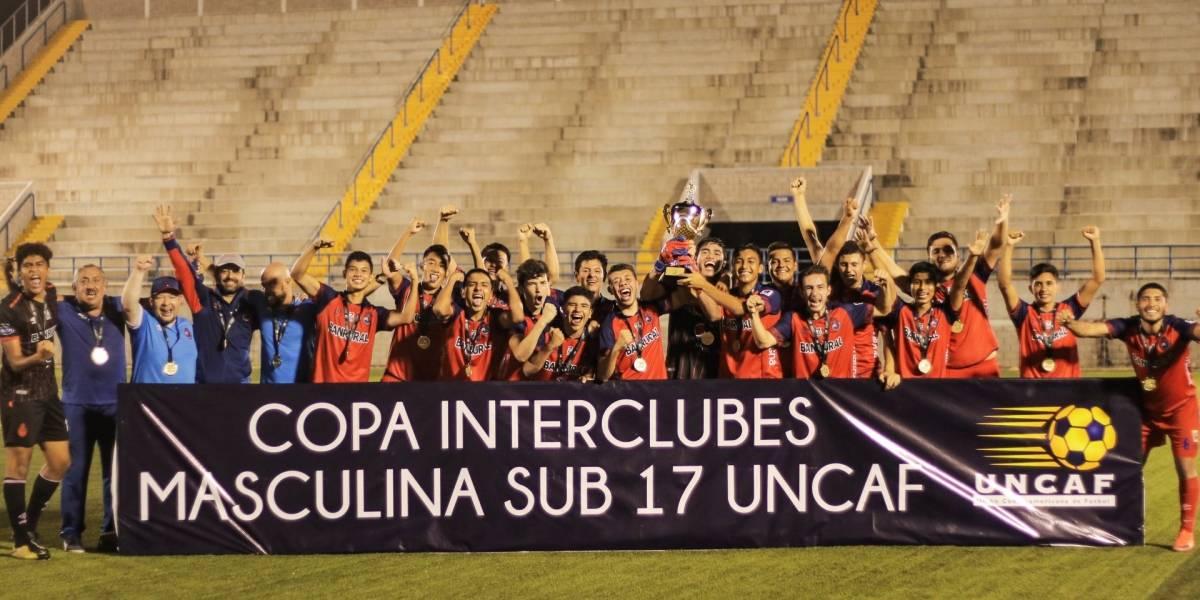VIDEO. Municipal Sub 17 campeón del Torneo Interclubes de Uncaf