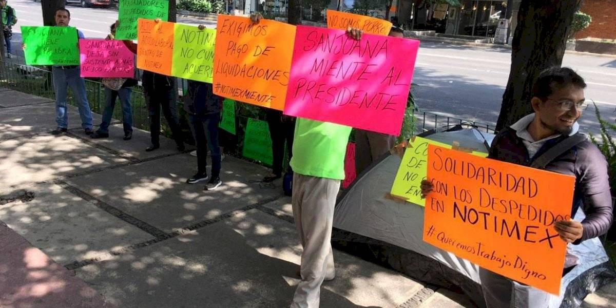 Corresponsales de Notimex piden a AMLO liquidación digna