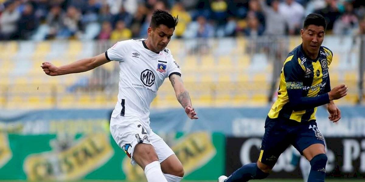 Sufre Colo Colo con las lesiones: Carlo Villanueva se desgarró y será baja al menos por dos semanas
