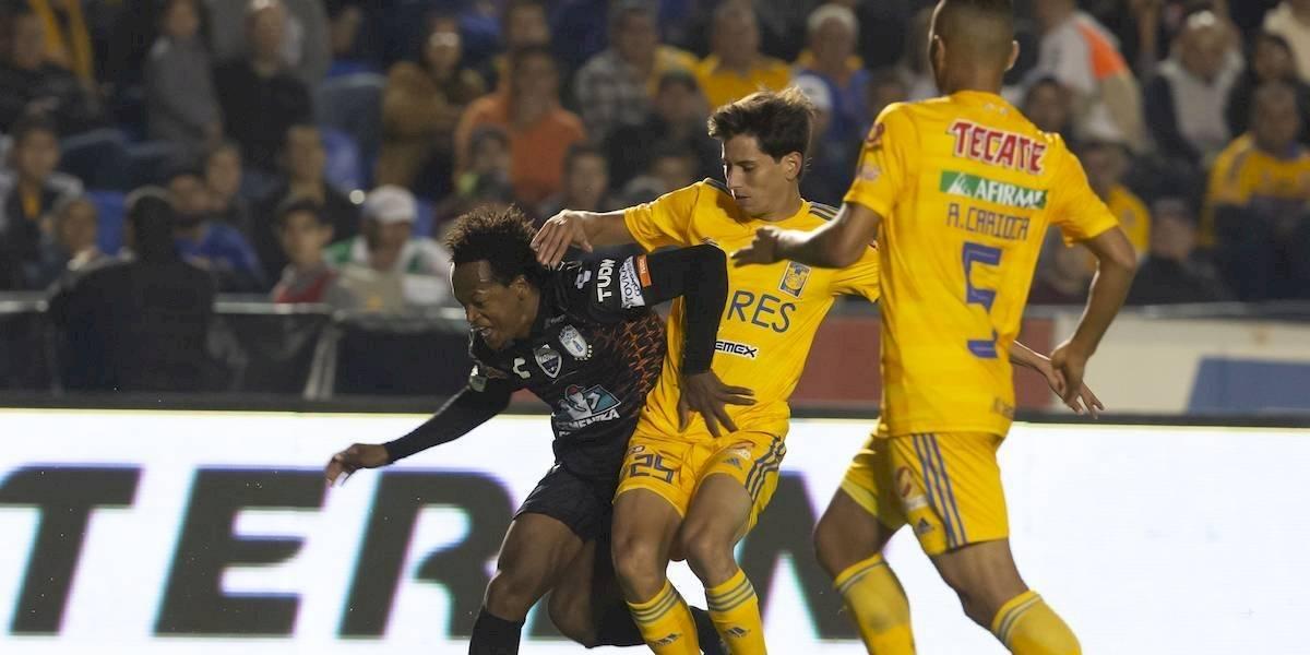 Sin ser brillantes y tras empatar ante Pachuca, Tigres asegura su pase a liguilla