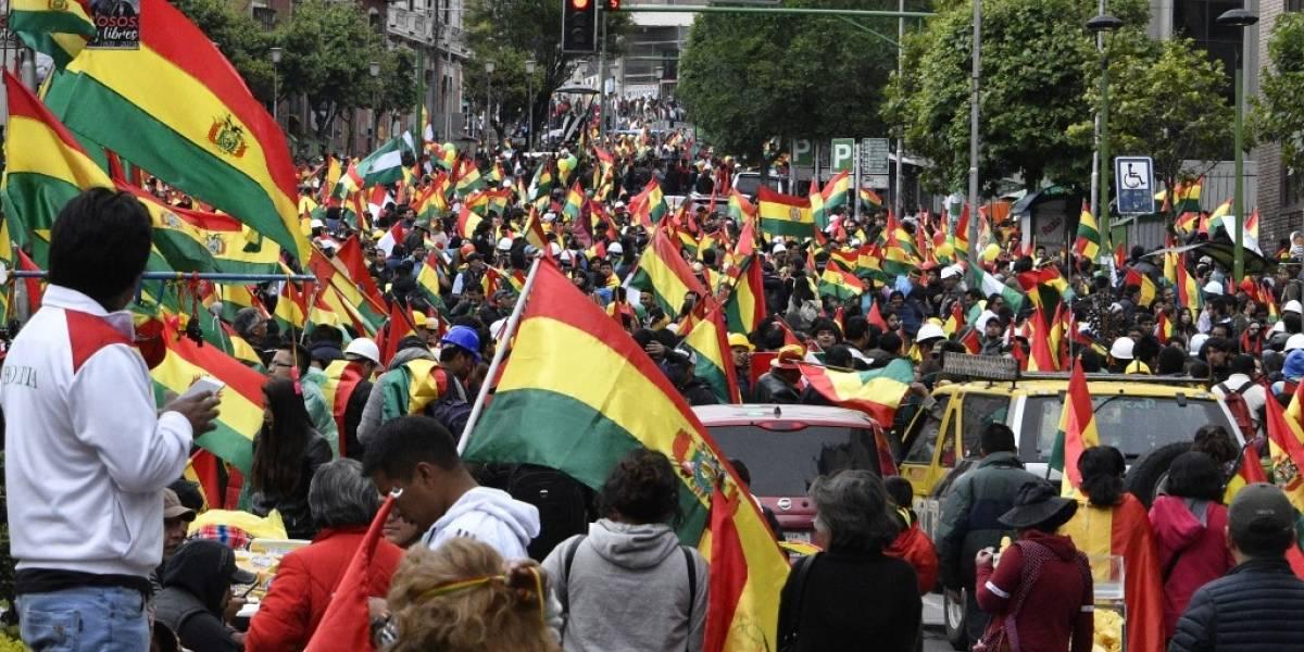 VIDEOS. Miles salen a las calles en Bolivia tras renuncia de Evo Morales
