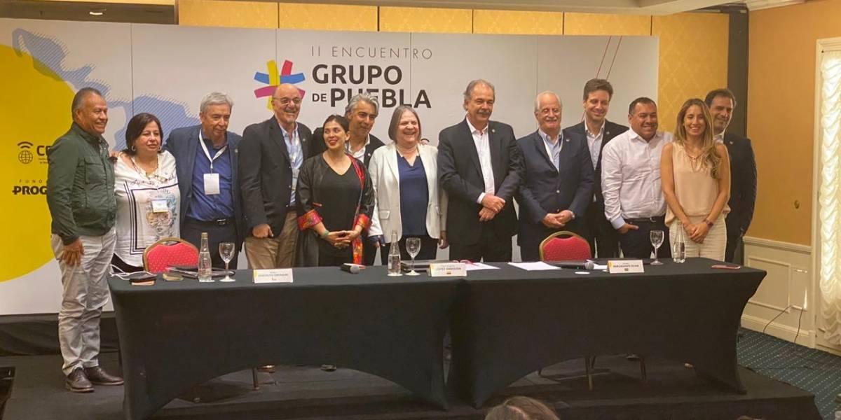 Grupo de Puebla rechaza eliminación de siglas de partido de Evo Morales en Bolivia