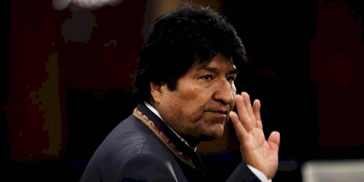 Simpatizantes de Evo Morales protestan en Bolivia