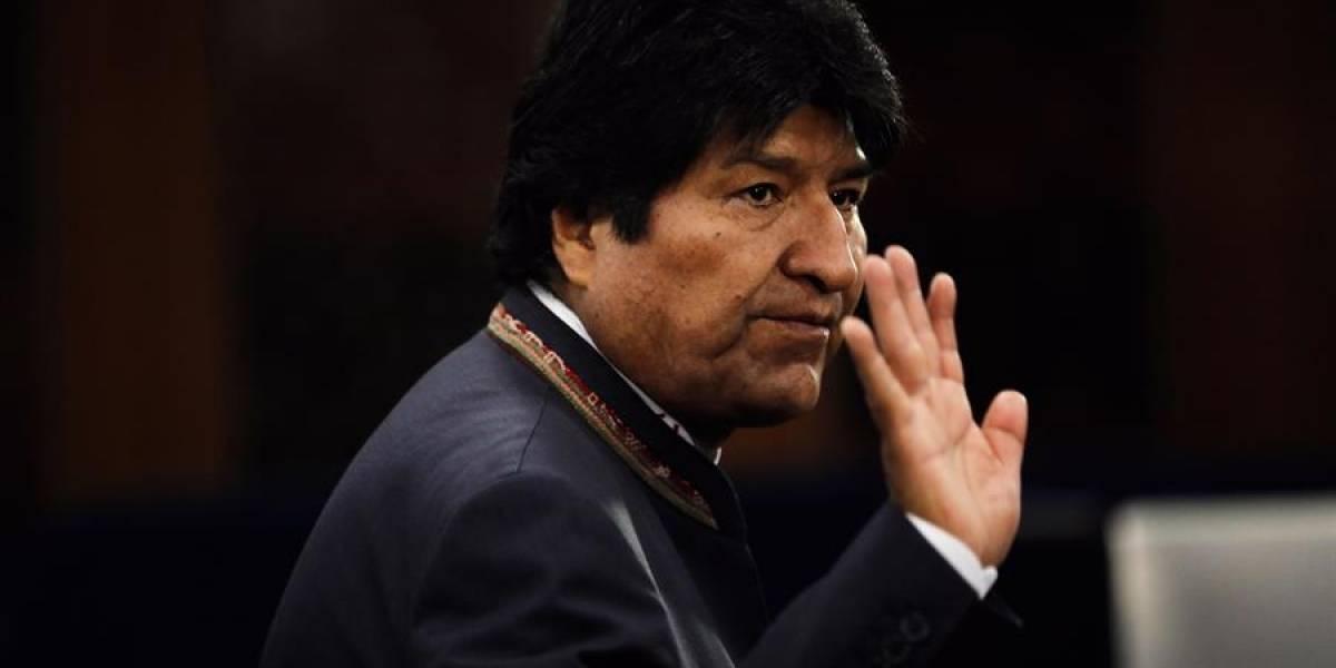 La directora de la cadena RT ofrece trabajo a Evo Morales
