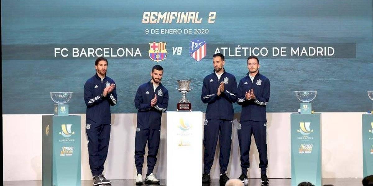 Listas las semifinales de la Supercopa de España