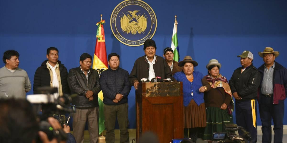 ¿Quién sustituirá a Evo Morales como presidente de Bolivia?