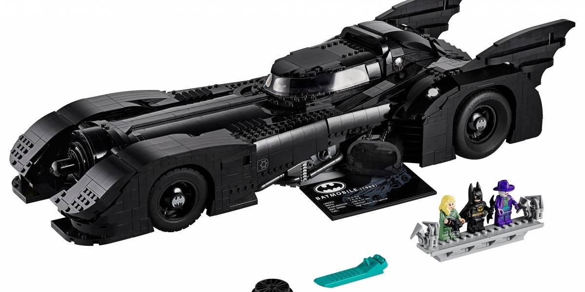 El Batmobile llega con 3.300 piezas de Lego