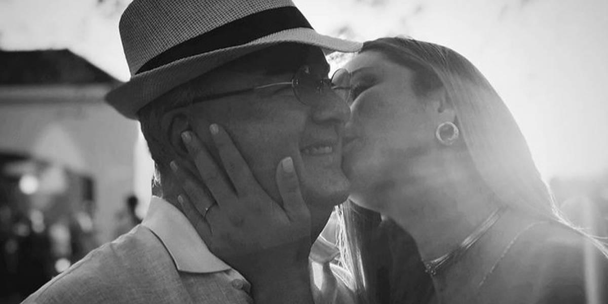 Claudia Bahamón recuerda en su cumpleaños a su fallecido padre
