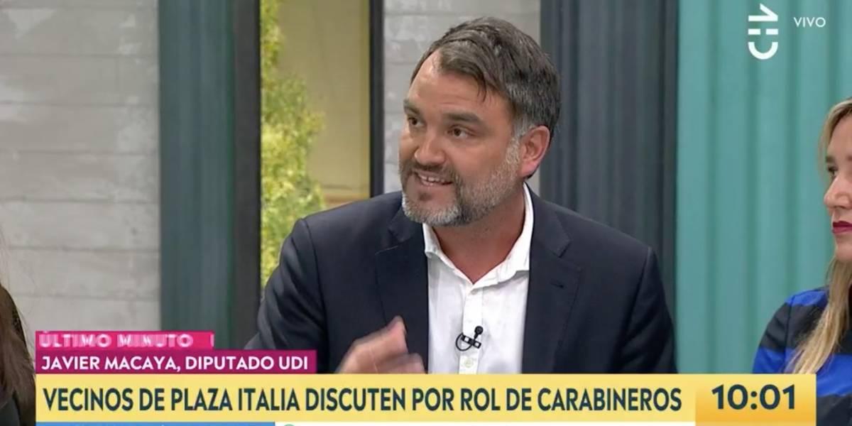 """Debate de nivel: Diputado UDI, Javier Macaya, dice que """"El que baila pasa"""" es """"una práctica fascista"""""""