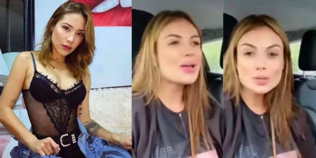 Le dan palo a Sara Uribe por video hablando de Luisa Fernanda W