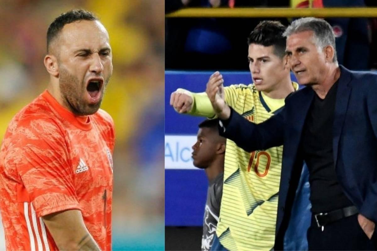 VIDEO | Directa respuesta de David Ospina por lo que dijo Carlos Queiroz sobre su falta de minutos en Napoli - Comutricolor