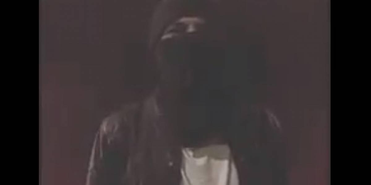 Investigan encapuchado que insta a la violencia en paro del 21 de noviembre