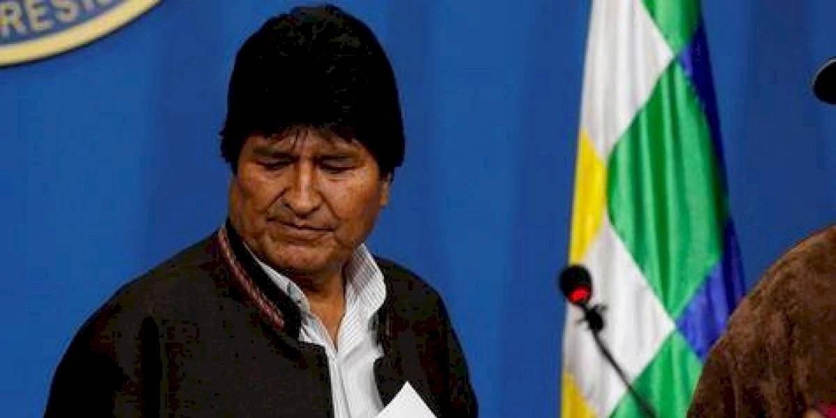 """PLD condena el """"golpe de Estado"""" a Evo Morales"""