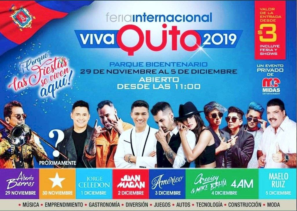 feria internacional 'Viva Quito 2019'