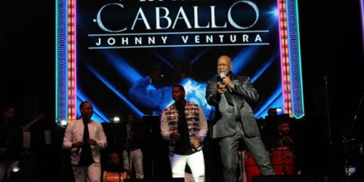 Johnny Ventura celebró sus 60 años en la música con un concierto en Puerto Rico