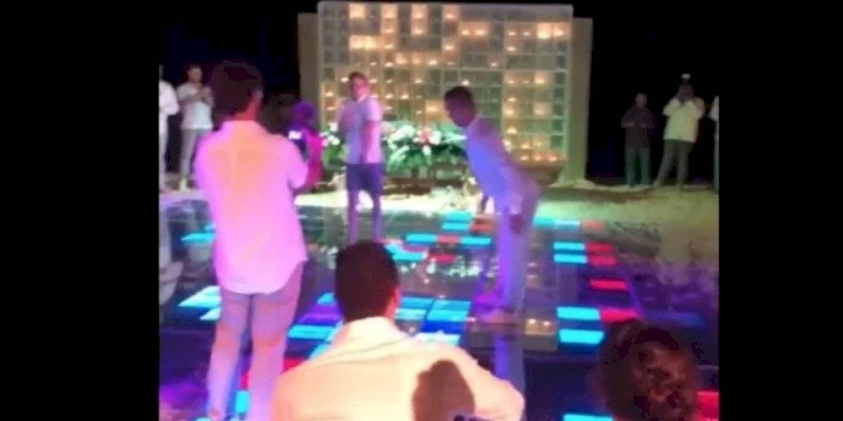 VIDEO. Sorprenden a jugadores del América, en tremenda parranda en Cancún